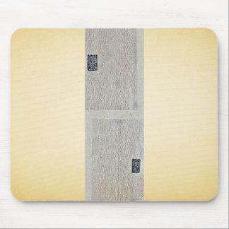 Design drawings for rectangular seals or stamps Uk Mousepads