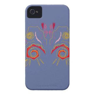 Design elegant Henna  red Silver Case-Mate iPhone 4 Cases