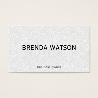 Design Element / Whimsical II Business Card