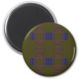 Design elements bio ethno magnet