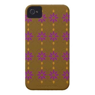 Design elements brown  folk iPhone 4 Case-Mate case