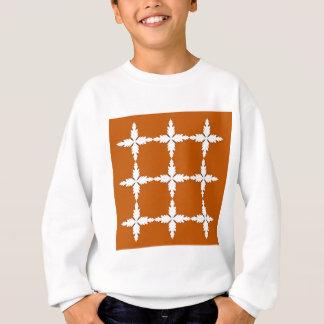 Design elements  brown white sweatshirt