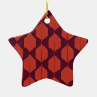 Design elements choco ethno ceramic ornament