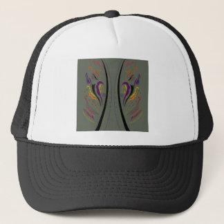 Design elements classic grey trucker hat