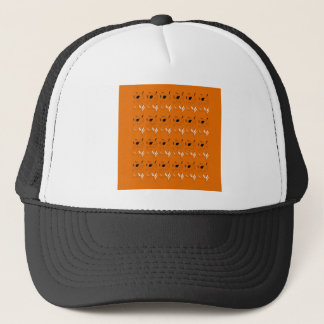 Design elements clay colour trucker hat