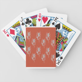 Design elements Eco Brown Bicycle Playing Cards