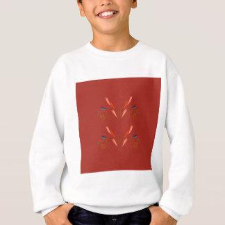 Design elements eco brown sweatshirt