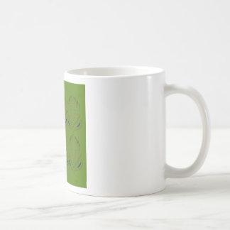 Design elements ethno green eco coffee mug
