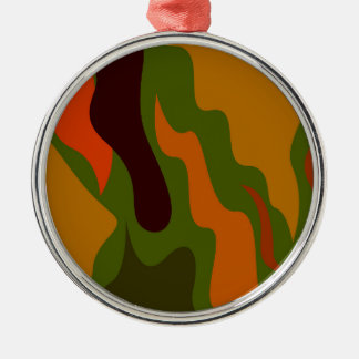 Design elements ethno metal ornament