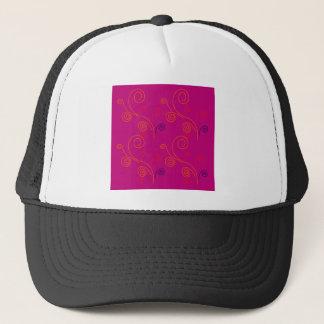 Design elements ethno Pink Trucker Hat