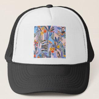 Design elements exotic trucker hat