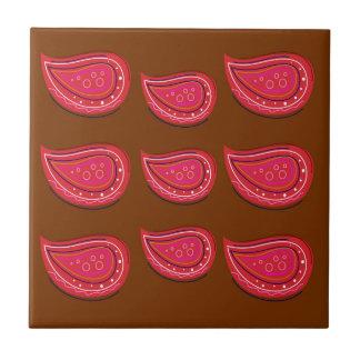 Design elements  Folk  red Tile