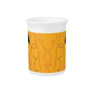 Design elements gold pitcher