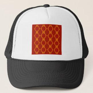 Design elements gold  red trucker hat