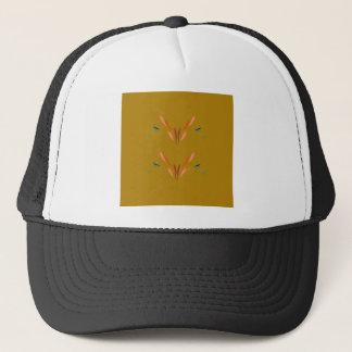 Design elements gold trucker hat