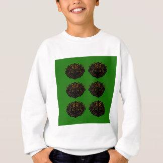 Design elements green black eco sweatshirt