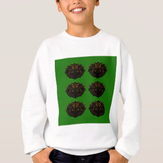 Design elements green Eco black Sweatshirt