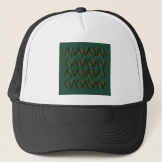 Design elements green trucker hat