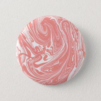 Design elements marble 6 cm round badge