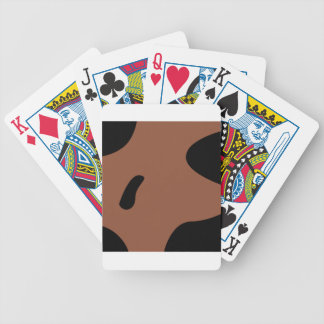 Design elements milk bicycle playing cards