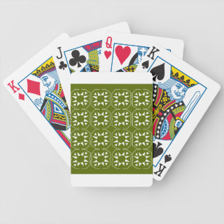Design elements olives Ethno Bicycle Playing Cards