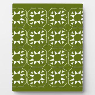 Design elements olives Ethno Plaque