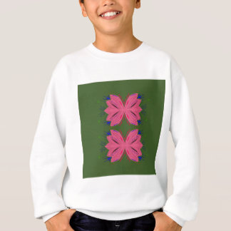 Design elements pink green sweatshirt
