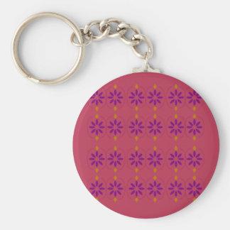 Design elements pink key ring