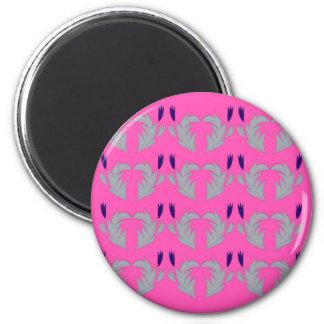 Design elements pink magnet
