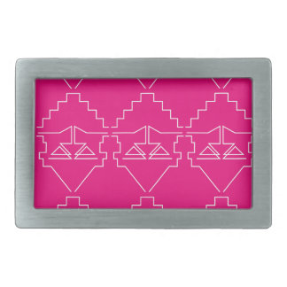 Design elements Pink White Belt Buckles