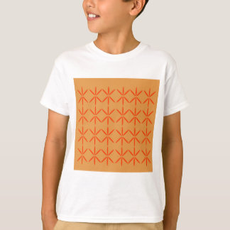 Design elements  red on gold T-Shirt