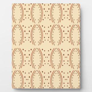 Design elements vanilla plaque