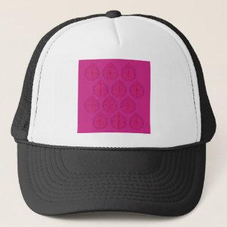 Design elements wild Pink Trucker Hat