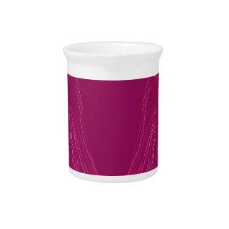 Design elements wine ethno pitcher