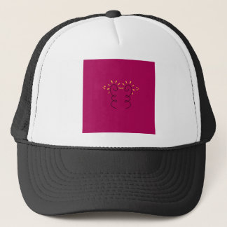Design elements wine  Nostalgia Trucker Hat