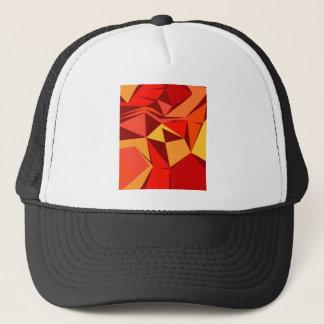 Design ethnic blocks trucker hat