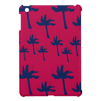 Design ethno Palms deep  red Cover For The iPad Mini