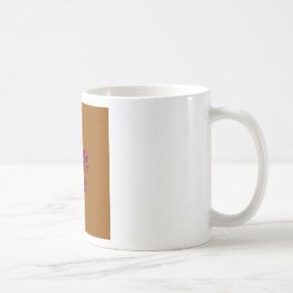 Design ethno with clay coffee mug