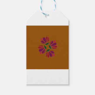 Design ethno with clay gift tags