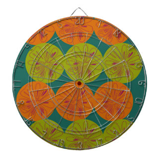 Design exotic lemons dartboard