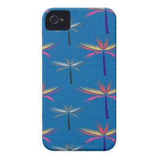 Design exotic Palms on blue iPhone 4 Cover