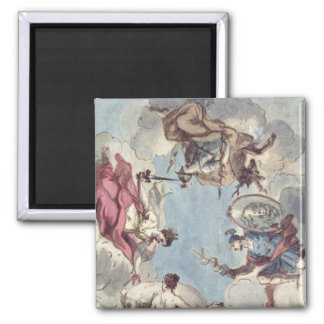 Design for a Ceiling Square Magnet