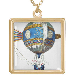 Design for a hot-air balloon with a diameter of 12 pendant