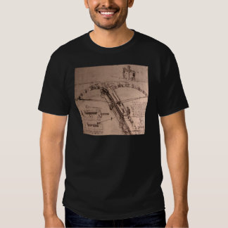Design for an enormous crossbow tee shirt