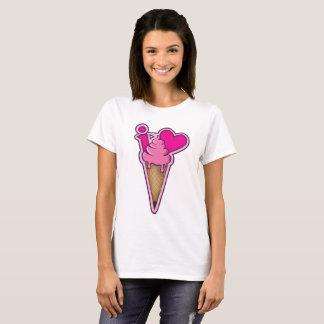 "Design for ice cream lovers - ""I love ice cream"" T-Shirt"