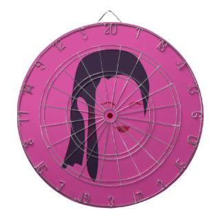 Design geisha Ethnic pink Dartboard