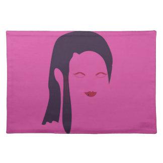 Design geisha Ethnic pink Placemat