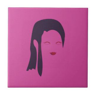 Design geisha Ethnic pink Tile