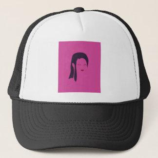 Design geisha Ethnic pink Trucker Hat