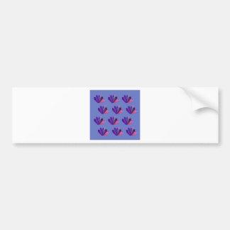 Design gems on blue edition bumper sticker